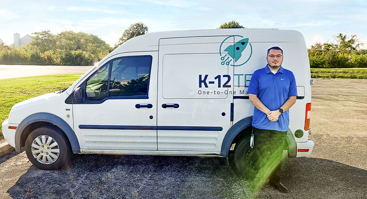 Mike Hotseller of K-12 Technology
